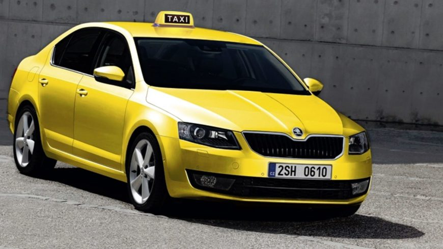 Skoda Octavia A7 Taxi